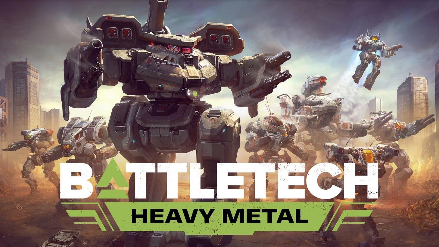 Battletech: Heavy Metal добавляет восемь новых мехов и Black Widow в следующем месяце