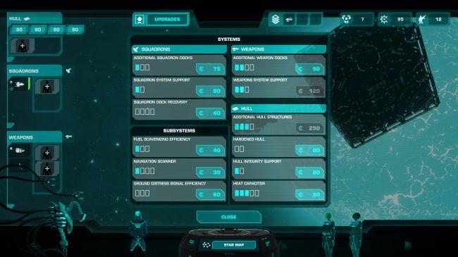 Скриншот из игры CRYING SUNS
