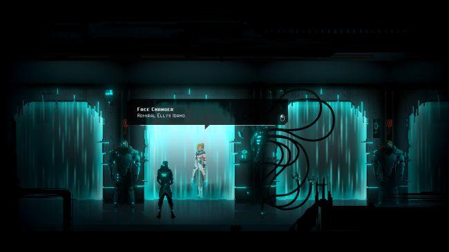 Скрин из игры CRYING SUNS