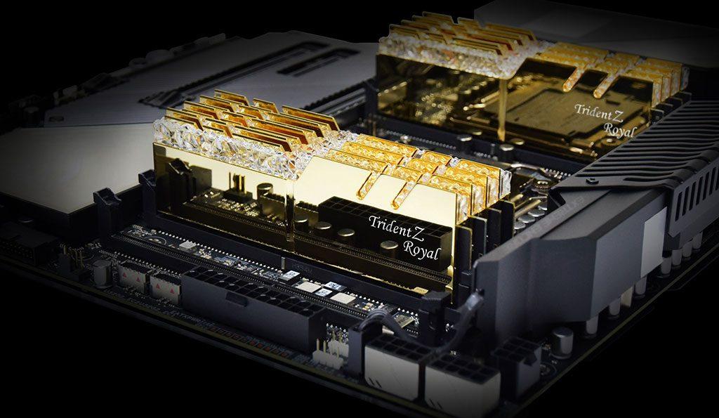 G.Skill запускает наборы памяти DDR4-4000 с предельно низкой задержкой 32 ГБ