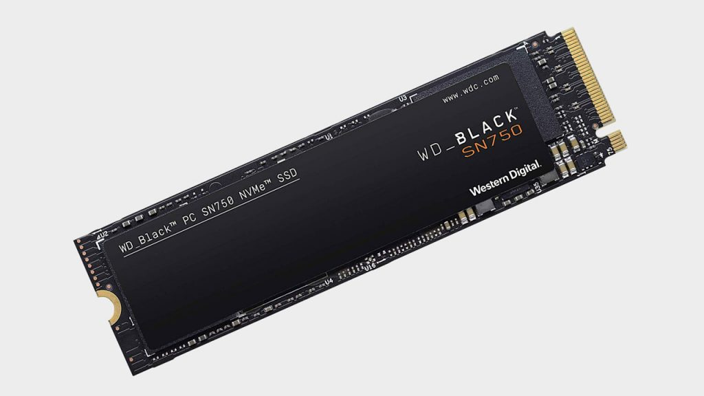 2. WD Black SN750 1 ТБ