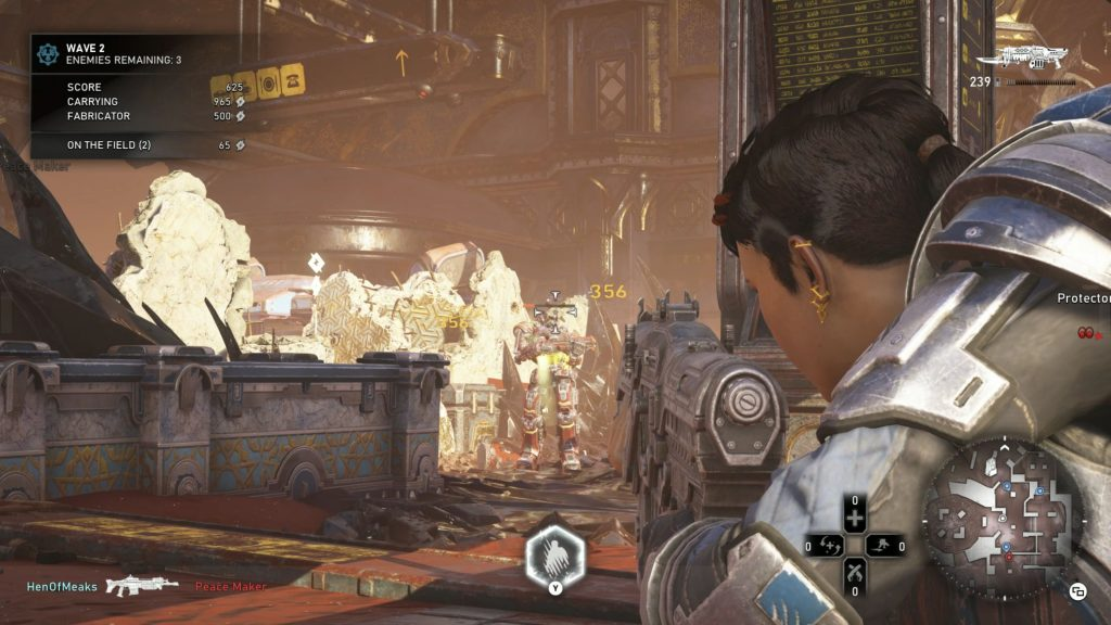 GEARS 5 геймплэй скриншот