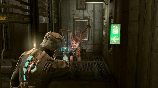 скриншот из игры dead space