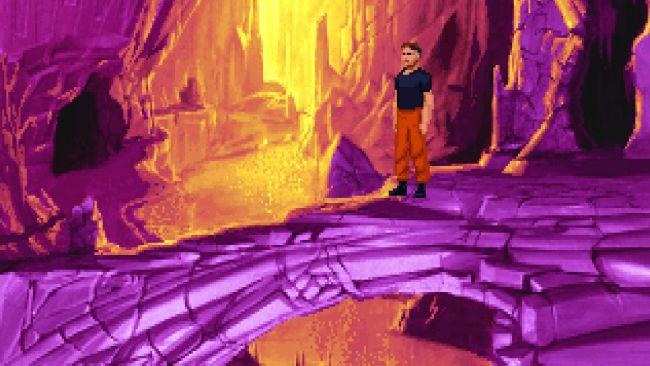 кадр из игры The Dig