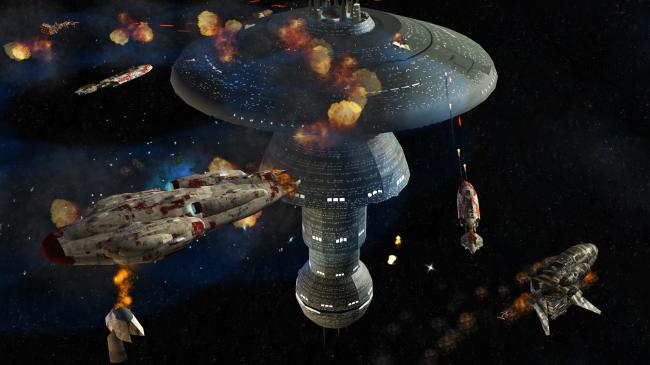 Объединенная федерация планет против Альянса повстанцев