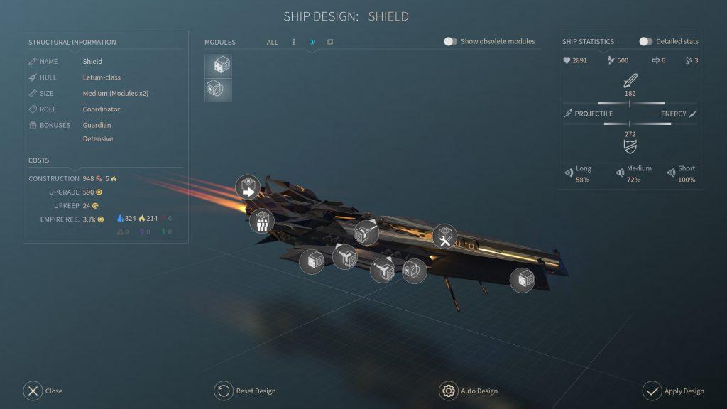 Endless Space 2 кадр из игры