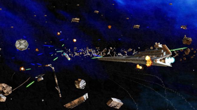 Объединенная федерация планет против Галактической Империи