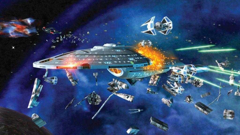 """Противостояние """"Звездных войн"""" и """"Звездного пути"""" в """"Звездных войнах: Империя в войне"""""""