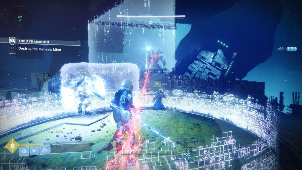обзор Destiny 2 кадр из игры