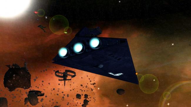 Галактическая Империя против Клингонской Империи