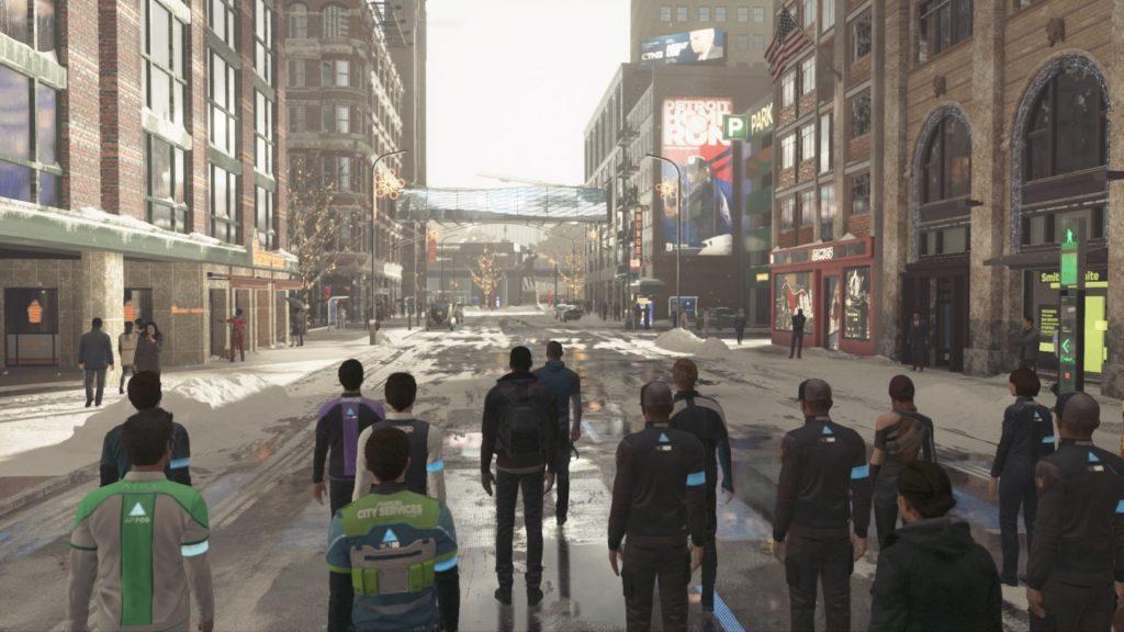 Особенности Detroit: Become Human