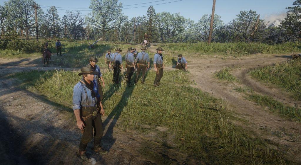 Red Dead Redemption 2 мод RedM позволяет вам бездельничать в мультиплеере