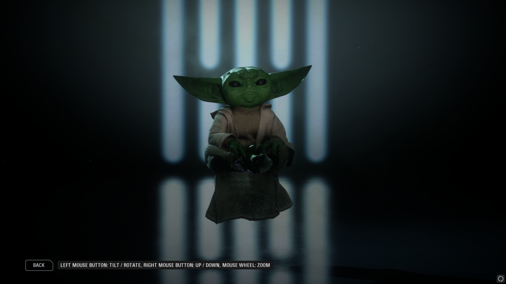 Моддер приносит Baby Yoda в Star Wars Battlefront 2