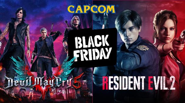 Скидки на игры от Capcom до 3 декабря