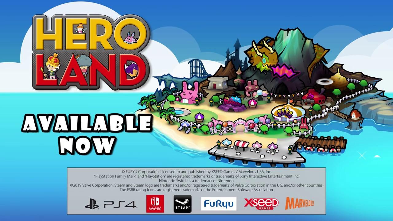 Heroland, беззаботная RPG от создателей Mother 3, вышла в Steam