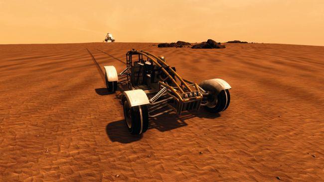 Строительство мощной космической базы в Take On Mars