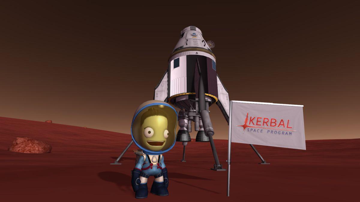 Обзор Kerbal space program: making history