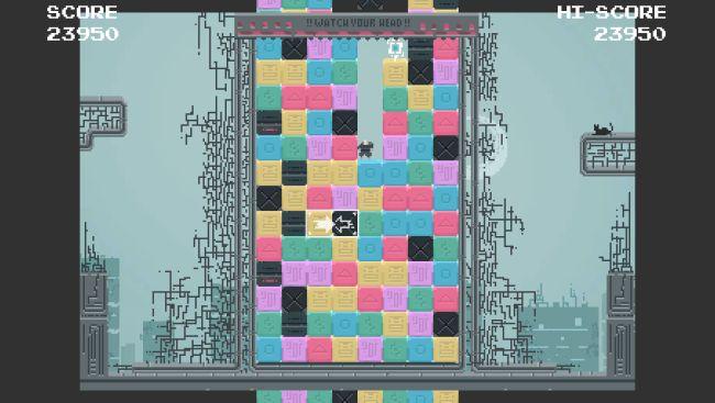 Blocked Up - это безумный платформер в жанре match-3, которым вы можете заняться бесплатно