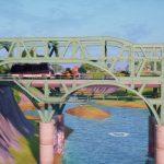 Где найти яркие стальные мосты в Fortnite