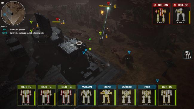 Вот мод, который превращает MechWarrior 5 в стратегию в реальном времени