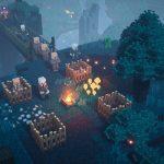 Как ползать и драться в Minecraft Dungeons