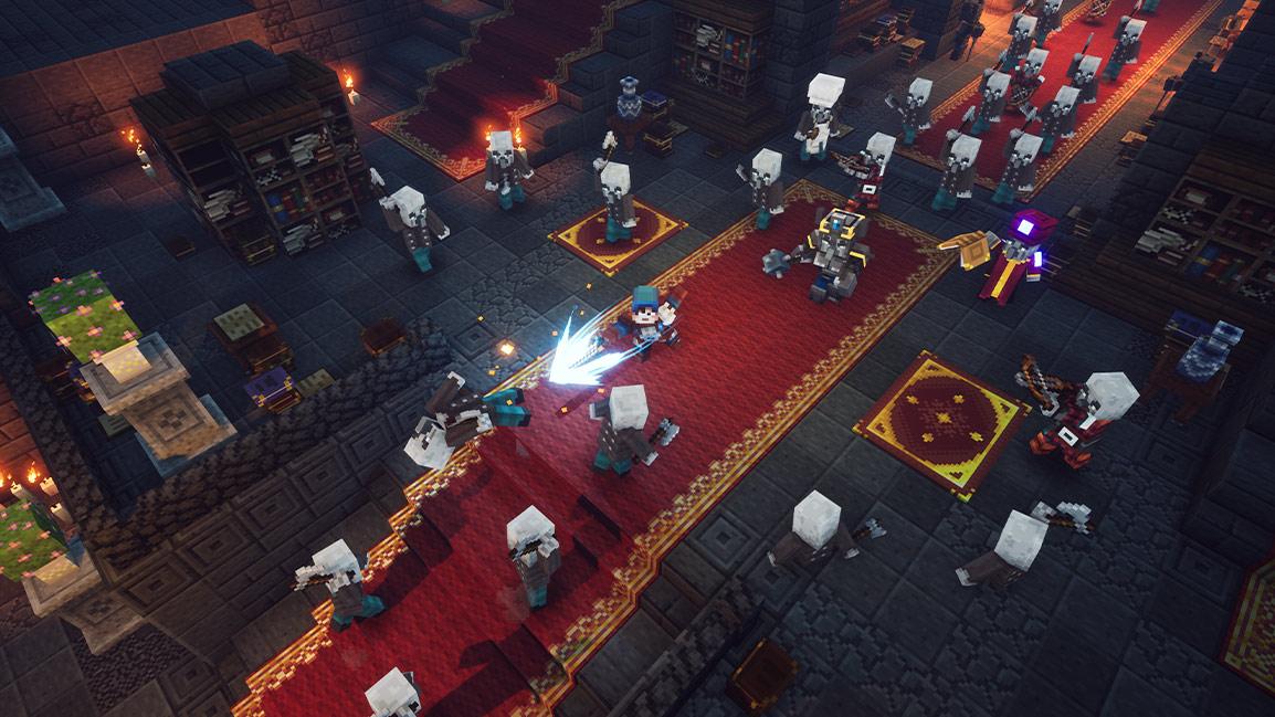Как получить доступ к суперсекретному уровню в Minecraft Dungeons