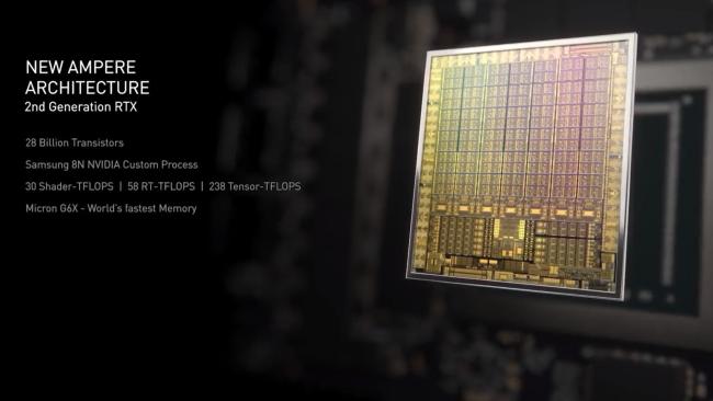 Nvidia подтверждает 8-нм техпроцесс Samsung для RTX 3090, RTX 3080 и RTX 3070