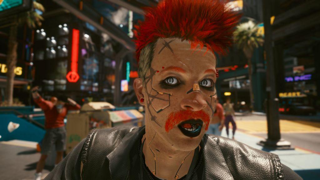 Это действительно дико, что вы не можете изменить свою внешность в Cyberpunk 2077