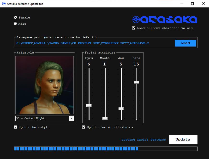 Благодаря этому моду Cyberpunk 2077 вы, наконец, можете изменить волосы и лицо
