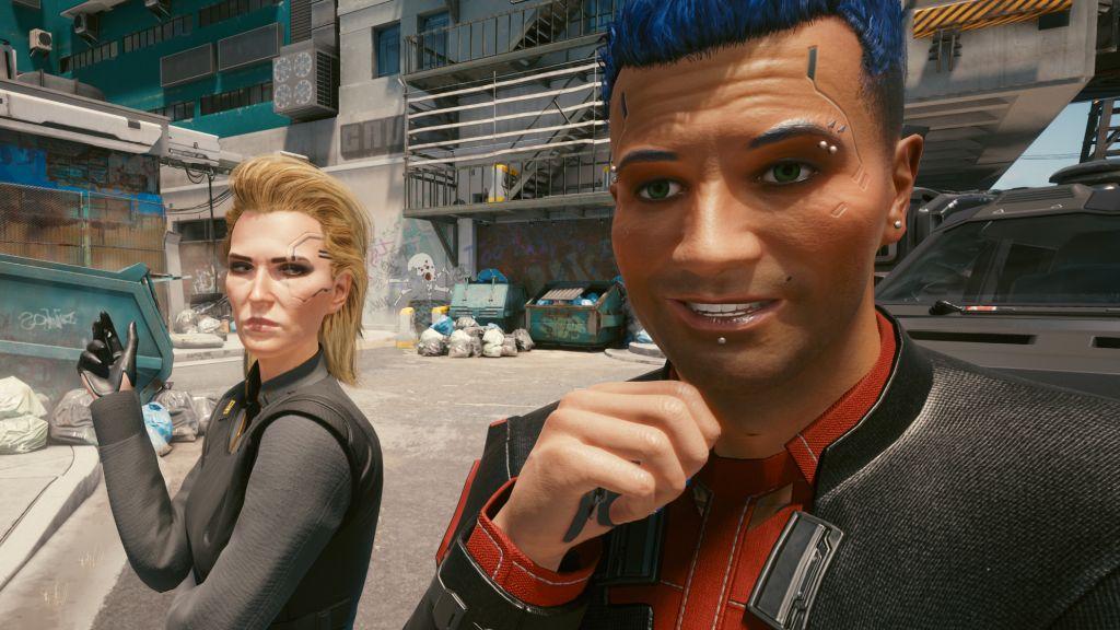 Я влюблен не в тех людей в Cyberpunk 2077