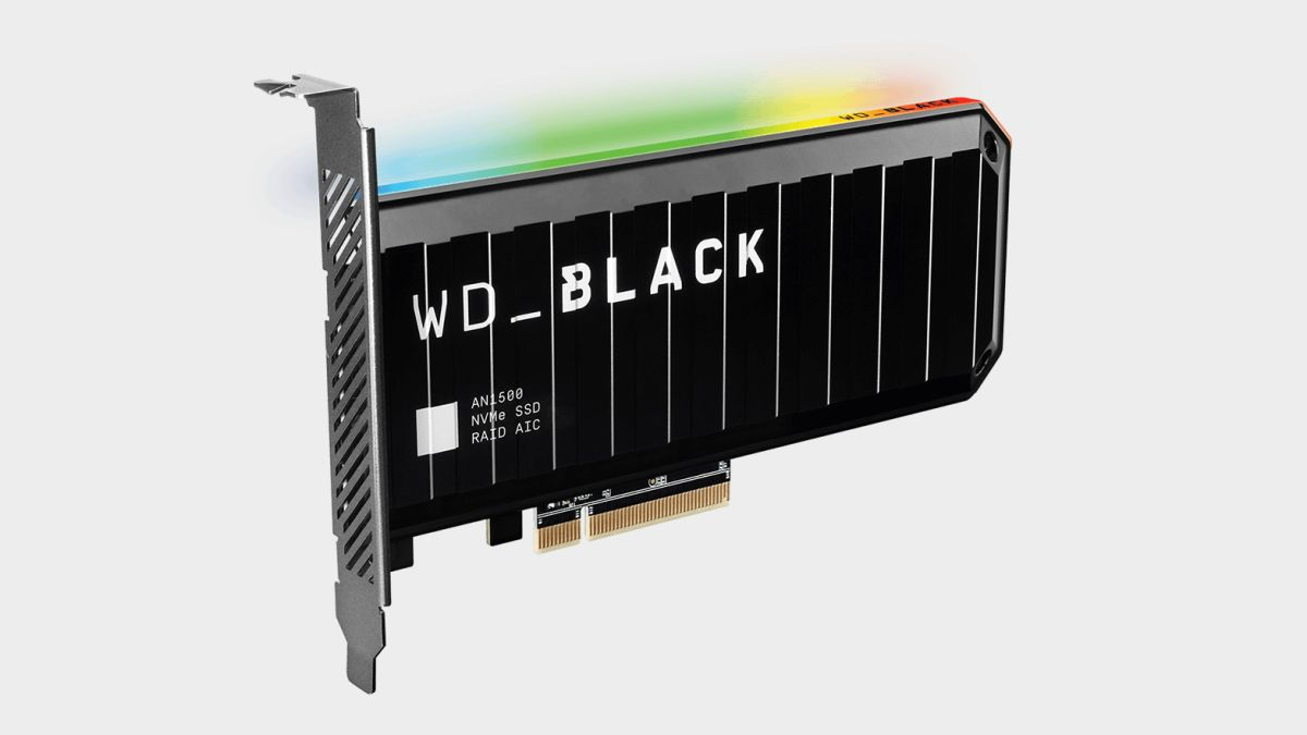 Обзор WD Black AN1500 2TB NVMe SSD
