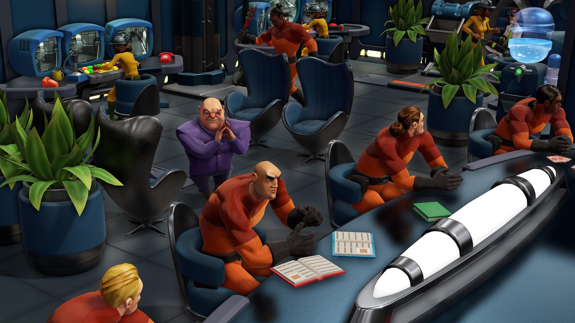 Экскурсия по базе в Evil Genius 2: World Domination