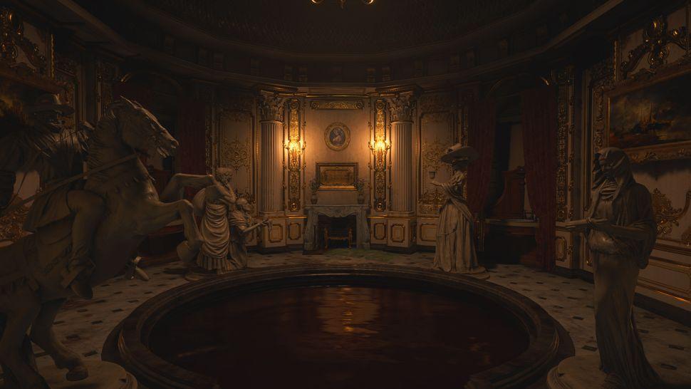 Как решить загадку статуй Resident Evil Village