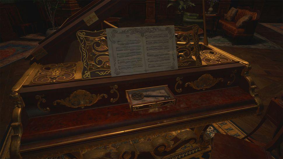 Как решить головоломку с фортепиано в Resident Evil Village