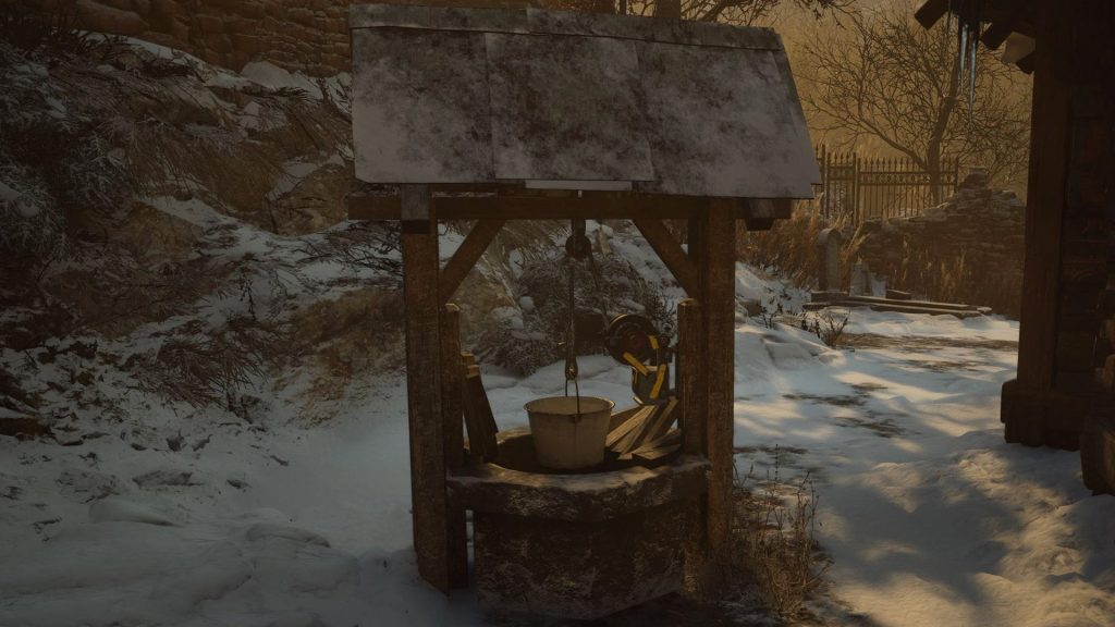 Как найти колодца в Resident Evil Village